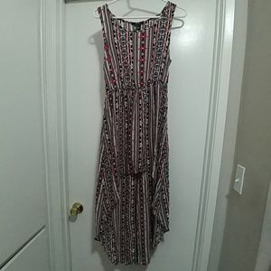 Forever 21 hi-low dress